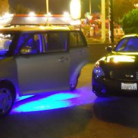 Blue LED Door Lights